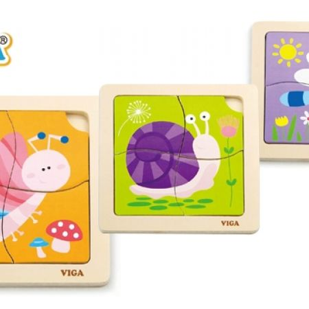 17% Off Viga Handy Flat Puzzle - Butterfly (Only $5 instead of $6)