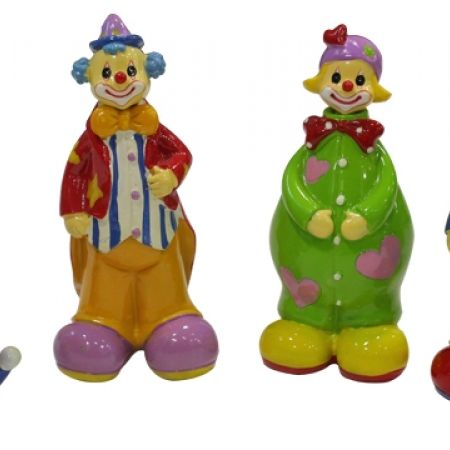33% Off Clown With Pen in the Head - Skinny Clown Girl  (Only $6 instead of $9)