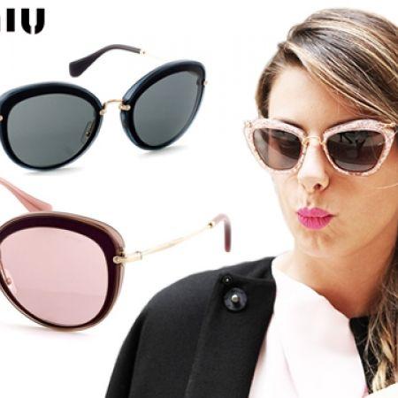 a3756d102a11 50% Off Miu Miu Sunglasses SMU 50RS UFB-9L1 Platinum Brown Frame with Grey  Fade - Women (Only  158 instead of  315) - Makhsoom