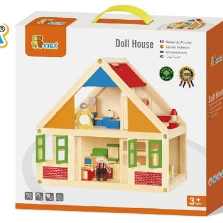 18% Off Viga Wooden Dollhouse (Only $94 instead of $115)