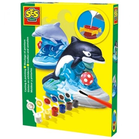 16% Off SES Dolphin Plaster Casting and Painting Kit (Only $16 instead of $19)