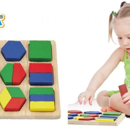 18% Off Viga Shape Block Puzzles (Only $27 instead of $33)
