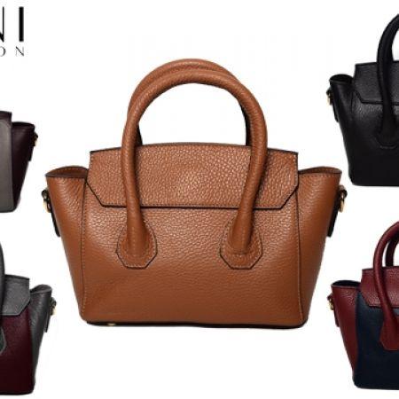 70% Off Vittoria Napoli Deerskin Tote Bag - Burgundy - Women (Only $72 instead of $239)