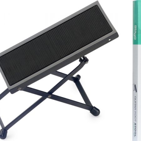 38% Off Stagg Metal Foot Rest For Guitar Players - Black (Only $8 instead of $13)