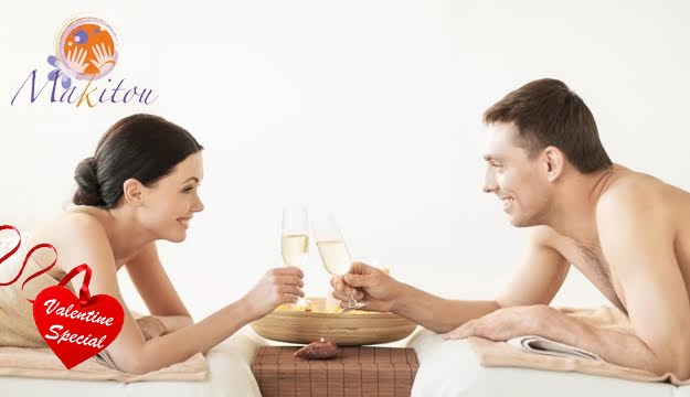 73% Off Valentine's Couples Spa Package For 2 from Makitou Day Spa, Ashrafieh (Only $110 instead of $400)