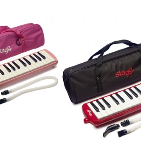 25% Off Stagg Melosta 32 Key Melodica With Pink Bag - Pink (Only $52 instead of $69)