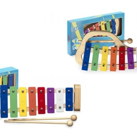 40% Off Stagg Kids Simple Metallophone With 8 Color Coded Keys and 2 Beaters (Only $15 instead of $25)