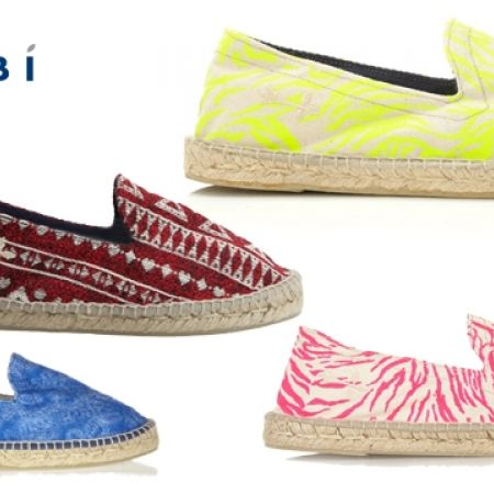 75% Off Manebi Ibiza Printed Canvas Espadrilles - Zebra Pink - Size: 36 - Women (Only $20 instead of $80)