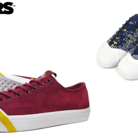 67% Off Losers Schooler Classic Low Sneakers - Size: 41 - Burgundy - Men (Only $40 instead of $120)