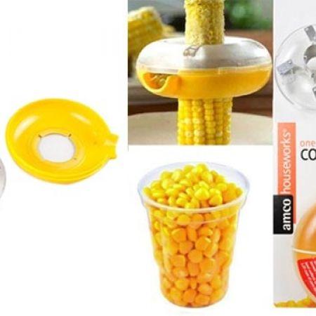 One-Step Yellow Corn Kerneler Kitchen Tool
