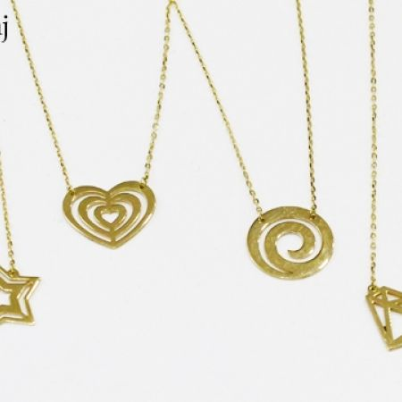 11% Off 18K Gold Heart Necklace (Only $76 instead of $85)