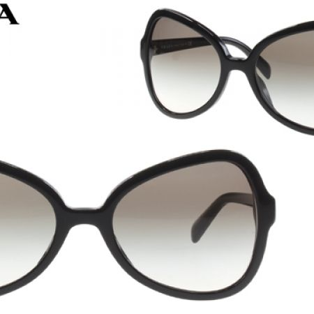 70dea1cb5cdd8 ... norway 50 off prada butterfly sunglasses spr 05s 1ab oa7 black frame  with grey gradient fade