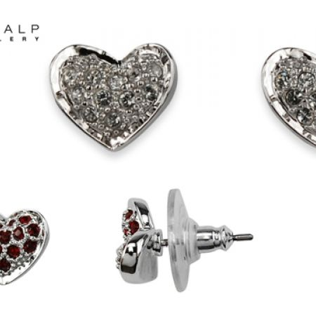 50% Off CrystalP Rhodium Darling Earrings - White (Only $29 instead of $58)