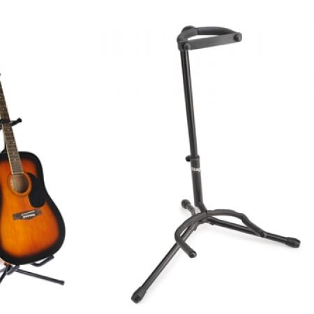 40% Off Stagg Tripod Guitar Stand - Black (Only $12 instead of $20)
