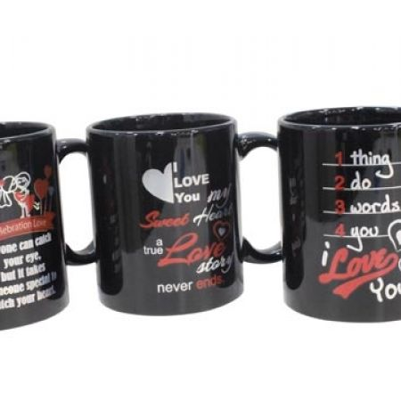 38% Off Ceramic Love Mug - 1 Thing 2 Do 3 Words 4 You (Only $2.50 instead of $4)