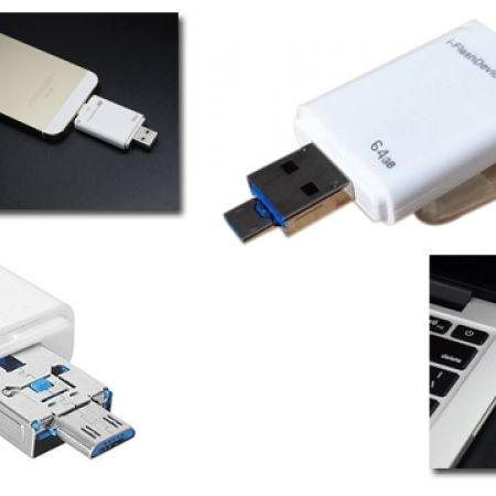 30% Off 3 In 1 I-Flash Drive Hd Flash Drive Phone OTG Memory Stick for IPhone 5 and 6 (Only $21 instead of $30)