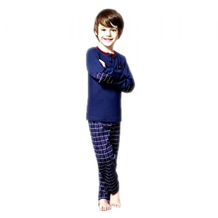 43% Off RolyPoly Striped Square Pyjamas - Age: 1 - Navy Blue/Red - Boys (Only $17 instead of $30)