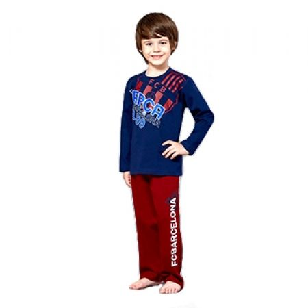 50% Off RolyPoly Licensed FCB Barcelona Pyjamas - Age: 3 - Navy/Burgundy - Boys (Only $19 instead of $38)