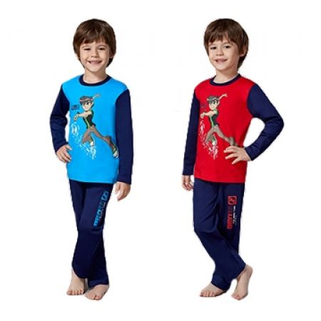50% Off RolyPoly Ben 10 Licensed Pyjamas - Age: 3 - Red - Boys (Only $19 instead of $38)