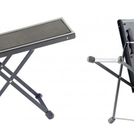 33% Off Stagg Metal Foot Rest For Guitar Players - Black (Only $10 instead of $15)