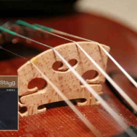 40% Off Stagg 4/4 & 3/4 Violin Steel Round-Wound String Set Extra Extra-Light (Only $9 instead of $15)