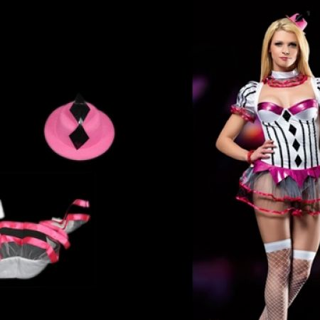 14% Off Fantasy Pinkish Costume - Size: S/M - White/Pink (Only $60 instead of $70)