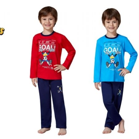 50% Off RolyPoly Lincensed Pigment Looney Tunes Pajamas - Age: 3 - Blue/Navy Blue - Boys (Only $19 instead of $38)