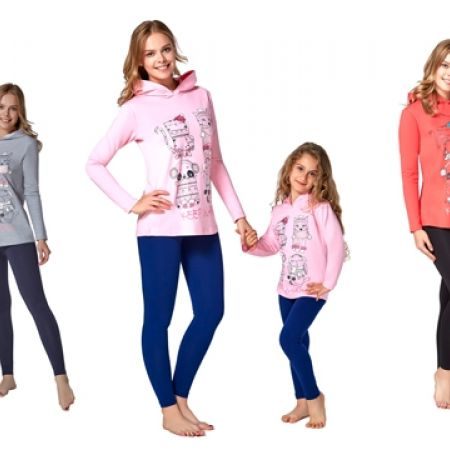 48% Off RolyPoly Three Thread Pajamas - Small - Salmon/Black - Women (Only $26 instead of $50)