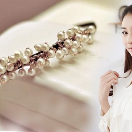 50% Off Little Pearl Hair Hoop Head Band (Only $5 instead of $10)