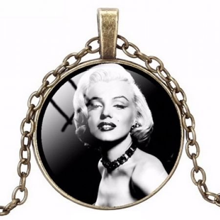 50% Off Marilyn Monroe Necklace (Only $5 instead of $10)