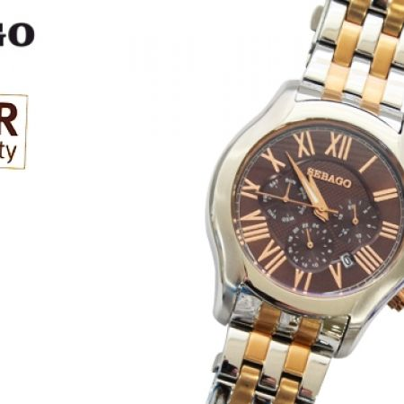 55% Off Sebago Stainless Steel Watch - Silver/Rose Gold - Men (Only $81 instead of $179)