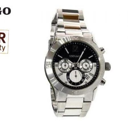 55% Off Sebago Stainless Steel Watch - Silver/Black - Men (Only $84 instead of $187)
