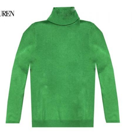 51% Off Ralph Lauren Long Sleeve Turtleneck Sweater - Green - Small - Women (Only $33 instead of $68)