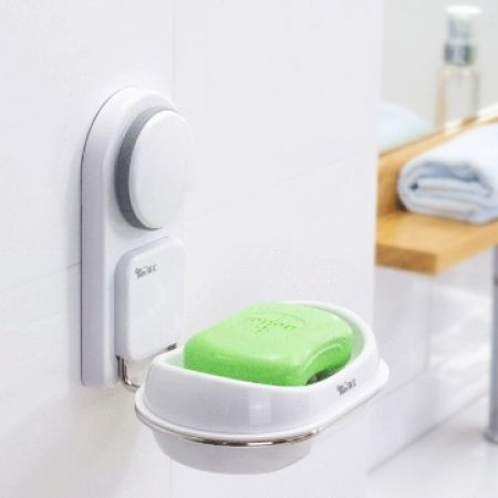 44% Off Soap Holder With Suction Cups (Only $10 instead of $18)