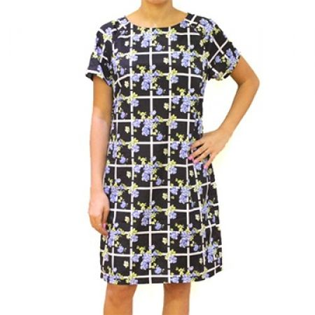 75% Off Lipsy London Multi Floral Patterened Dress - Size (EU): 38 (Only $30 instead of $120)