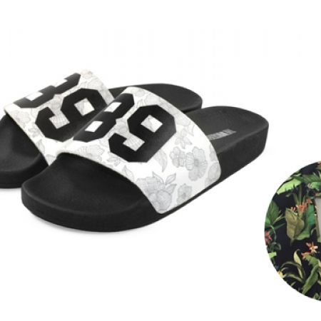 df86c3e18102 63% Off The White Brand White   Black 89 Slippers - Women (Only  30 instead  of  80)