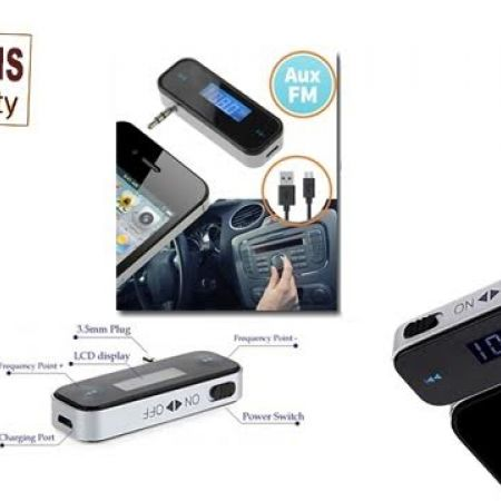 35% Off Black Wireless FM Transmitter For Cars (Only $15 instead of $23)