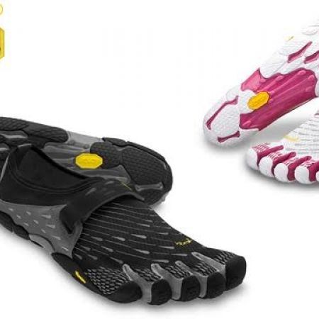 54% Off Vibram Five Fingers Seeya Shoes For Women - Black & Grey - Size: 37 (Only $69 instead of $150)