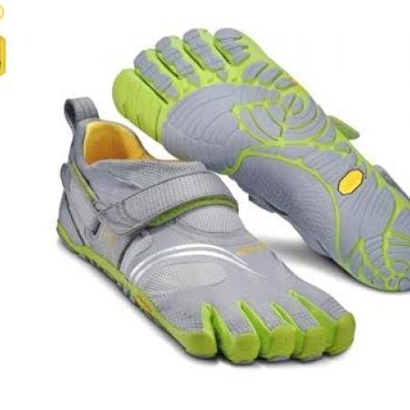 57% Off Vibram Five Fingers Grey \u0026 Green Olive KMD Sport Shoes For Men -  Size: 44 (Only $69 instead of $160) - Makhsoom