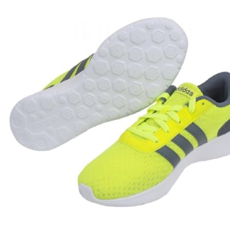 16% Off Adidas Running Neo Yellow Lite Racer M Sport Shoes For Men - Size