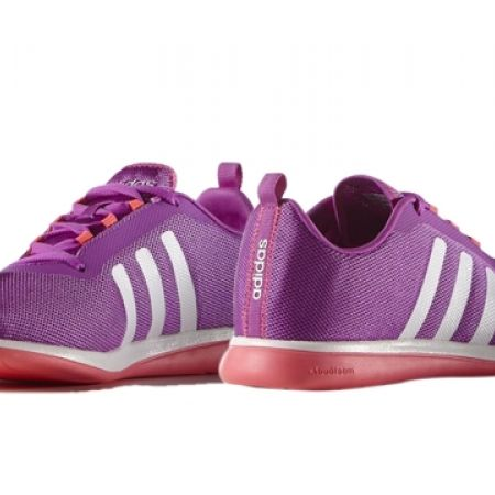 16% Off Adidas Running Purple Neo Cloudfoam Pure W Sport Shoes For Women - Size: 37 (Only $66 instead of $79)