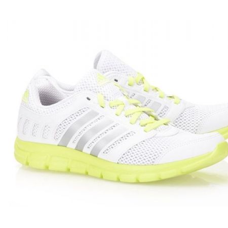 17% Off Adidas Running White Breeze 101 2 W Sport Shoes For Women - Size: 38 (Only $75 instead of $90)