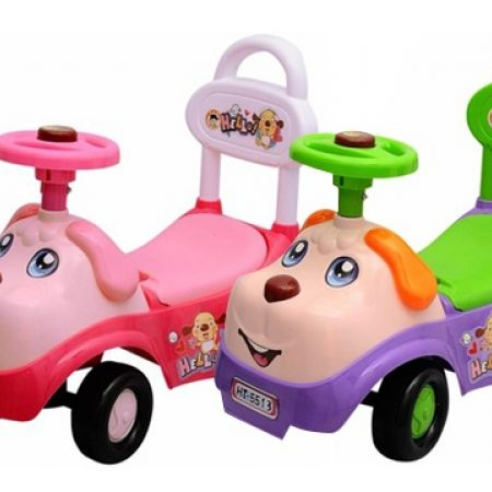 29% Off Puppy Plastic Sliding Pink Car (Only $25 instead of $35)