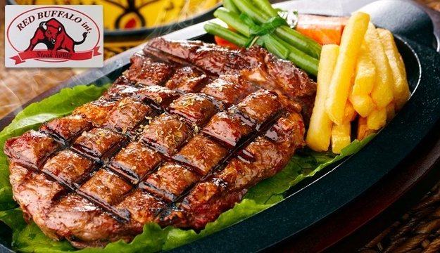 50% Off Food & Drinks Off Menu from Red Buffalo, Broumana (Only $12 instead of $24)