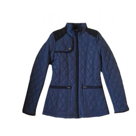 29% Off Tommy Hilfiger Navy Blue 2 Pockets Jacket For Women - Small (Only $150 instead of $210)