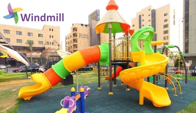 50% Off Playground Pass with Popcorn from Windmill Playground, Jounieh (Only $5 instead of $10)