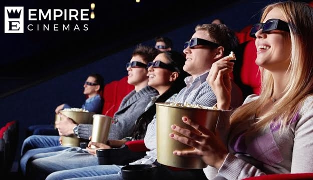 Two Movie Tickets from Empire Espace, Kaslik (Only $10 instead of $16)