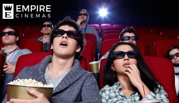 Two Movie Tickets from Empire Cinema The Spot , Nabatieh (Only $10 instead of $16)