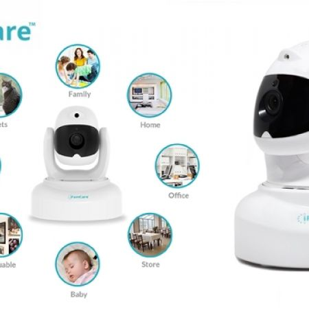iFrame Care White Helmet Cam 1080P Full HD Wi-Fi Smart Digital Home Video Monitor for iPhone & Android (Only $142)