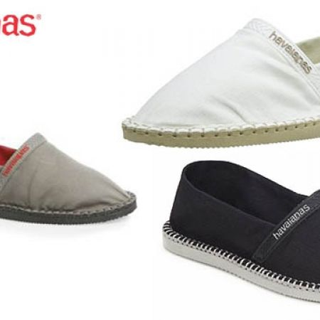 39% Off Havaianas Espadrilles Origine For Women - Size: 35 - Ice Grey (Only $33 instead of $54)